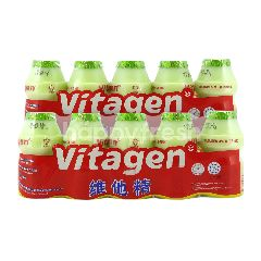 VITAGEN Apple Flavoured Cultured Milk Drink 625ml Twinpack