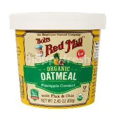 บ๊อบส เรด มิลล์ บ๊อบส์ เร้ด มิลล์ โอ๊ตมีล ชนิดถ้วย ผสมสับปะรดและมะพร้าว ไร้กลูเตน 70 กรัม