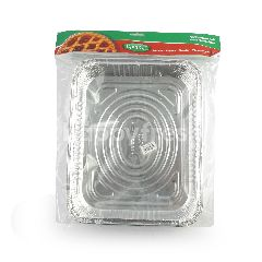 Kingfoil Wadah Makanan Alumunium Foil OX 2700 TP