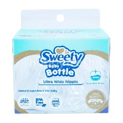 Sweety Botol Bayi Ultra Wide Nipple dengan Aliran Variabel