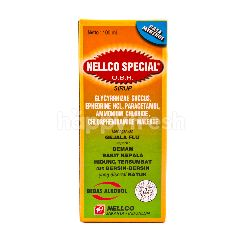 Nellco Special Syrup to Relieve Flu Symptoms Menthol