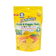 Gerber Graduates Fruit & Veggie Melts - Truly Tropical Blend