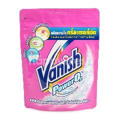 แวนิช น้ำยาคราบอเนกประสงค์ พาวเวอร์ โอทู สำหรับผ้าสีและผ้าขาว