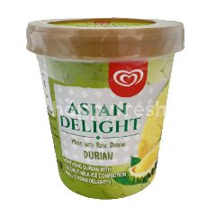 Wall's Asian Delight Durian Ice Cream Tub