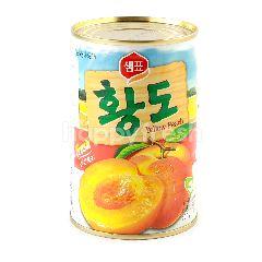 Dongwon Buah Persik Kuning dalam Sirup