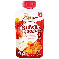 Happybaby Stage 4 - Apple/Butternut Squash (120g)