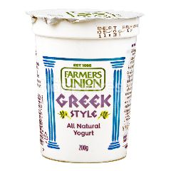 Farmers Union Greek Style Yoghurt All Natural Formula