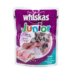 Whiskas Junior Makanan Anak Kucing Rasa Ikan Tuna
