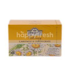 Ahmad Tea London Ahmad Tea Fruit & Herb Relaxing Chamomile And Lemongrass Tea
