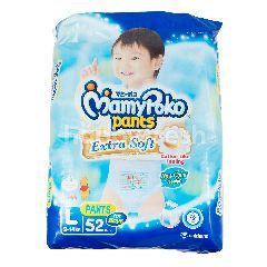 MamyPoko Popok Celana Bayi Laki-Laki Ekstra Lembut Ukuran L