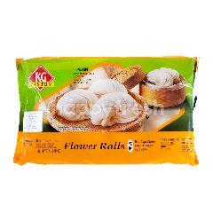 Kawan Flower Roll Plain Bun