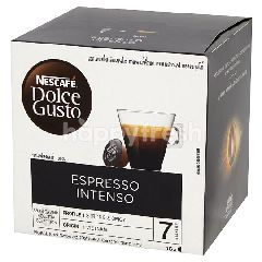 เนสกาแฟ ดอลเซ่กุสโต้ กาแฟคั่วบด เอสเพรสโซอินเทนโซ 96 กรัม (16 แคปซูล)