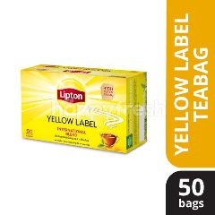 Lipton Yellow Label Black Tea (50 Tea Bag)