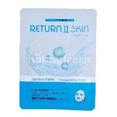 Return2Skin Bamboo Fabric Face Mask Collagen