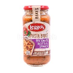 Leggo's Pasta Bake With Tomato, Ricotta & Spinach