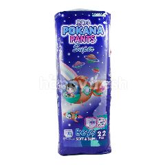 Pokana Popok Celana Bayi Super Boys Tipis & Lembut Ukuran XL