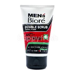 Biore Men's Double Scrub Facial Foam