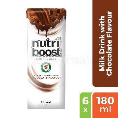 Nutri Boost Nutri Boost Minuman Susu Rasa Cokelat 6-Pack