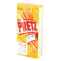 เพรทซ์ ขนมแท่งอบกรอบ รสบัตเตอร์