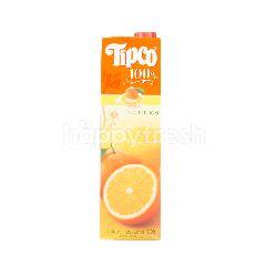 ทิปโก้ น้ำส้มวาเลนเซีย 100% 1 ลิตร