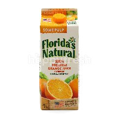 Florida's Natural 100% Premium Orange Juice (Some Pulp)