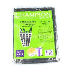 แชมป์เปี้ยน ถุงขยะ แบบมีหูผูก ขนาด 36 x 45 นิ้ว