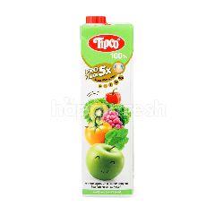 ทิปโก้ น้ำผักผสมน้ำผลไม้รวม สูตรแอปเปิ้ลเขียว 1 ลิตร