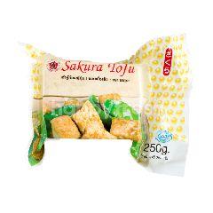 ซากุระ เต้าหู้ก้อนญี่ปุ่น ชนิดเนื้อแข็ง 250 กรัม