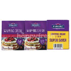 Emborg Whipping Cream Super Saver (3x200ml)