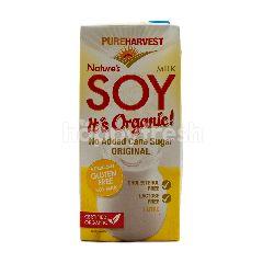 Pure Harvest Susu Kedelai Organik Alami