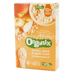 Organix Banana, Peach & Apple Muesli 10 Months
