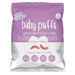 LITTLE BELLIES Baby Puffs - Blueberry (12g)