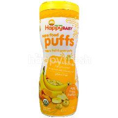 Happybaby Puffs - Banana & Pumpkin (60g)