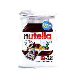Nutella Hazelnut With Cocoa Spread (12 Packet)