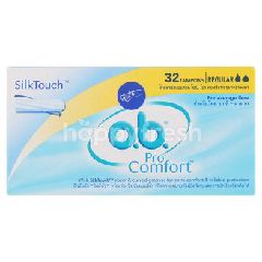 O.B. PRO Comfort SilkTouch Regular Tampons