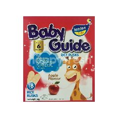 Tenten Baby Guide Apple Flavour Rice Rusks