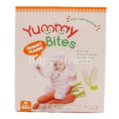 Yummy Bites Biskuit Rasa Wortel
