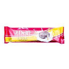 Delfi Cokelat Susu dengan Kacang Almond