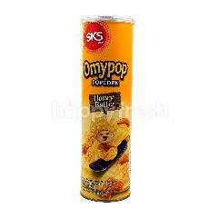 Omypop Popcorn Popcorn Rasa Madu & Mentega