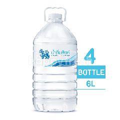 สิงห์ น้ำดื่ม 6 ลิตร (แพ็ค 4)