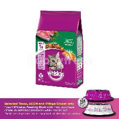 Whiskas Cat Dry Food Adult Tuna 3KG Cat Food