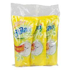 ซันไลต์ น้ำยาล้างจาน เลมอนเทอร์โบ 550 มล. (3 ถุง)