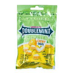 Wrigley's Doublemint Peppermint Permen Lunak Rasa Lemon