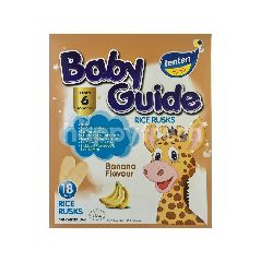 Tenten Baby Guide Banana Flavour Rice Rusks