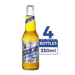San Miguel Light Bir Less Kalori (Botol) 4-Pack