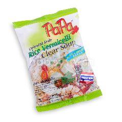 Papa Bihun Kuah Bening