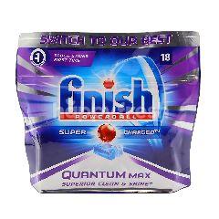 Finish Powerball Quantum Max Super Charged Dishwashing Tablets