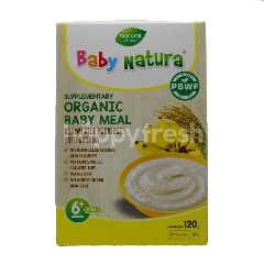 Baby Natura Organic Brown Rice Porridge - Banana (120g)