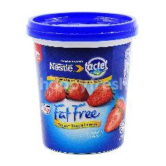Lactel Fat Free Yogurt Strawberry  470g