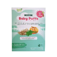 Love Earth Organic Baby Puffs Sprouted Brown Rice With Amaranth Leaves & Pumpkin